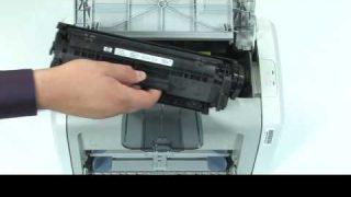 Comment remplacer une cartouche d'Imprimante HP LaserJet 1020